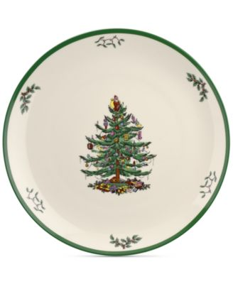 "Christmas Tree 14"" Round Platter"