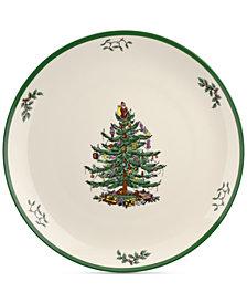 "Spode Christmas Tree 14"" Round Platter"