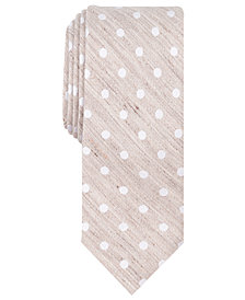 Tallia Men's Gracie Dot Slim Tie