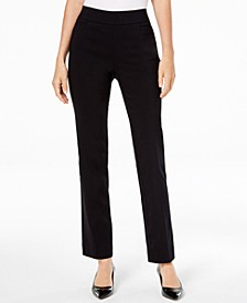 Petite Tummy Control Pull-On Pants, Created for Macy's