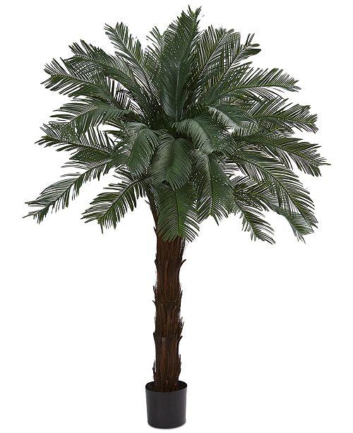 Nearly Natural 6' Cycas UV-Resistant Indoor/Outdoor Artificial Tree