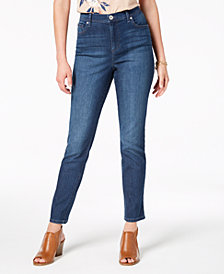 Style & Co Straight-Leg Ankle Jeans, Created for Macy's