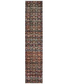 "Macy's Fine Rug Gallery Journey Valley Multi 2' 6"" x 12' Runner"