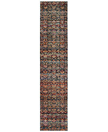"Macy's Fine Rug Gallery Journey Valley Multi 2' 6"" x 12' Runner"