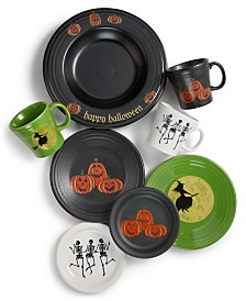 Fiesta Halloween Dinnerware Collection