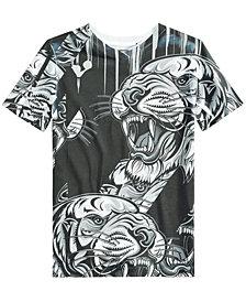 Sean John Big Boys Tiger Graphic-Print T-Shirt