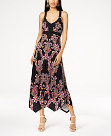 I.N.C. Handkerchief-Hem Maxi Dress, Created for Macy's