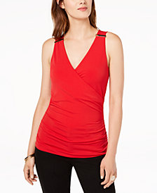 I.N.C. Petite Surplice Bar-Hardware Top, Created for Macy's