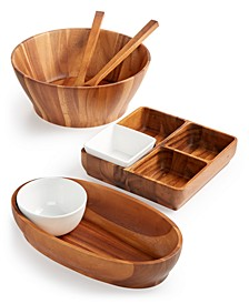 Acacia Wood Collection, Created for Macy's