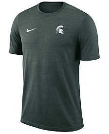 Nike Men's Michigan State Spartans Dri-Fit Coaches T-Shirt