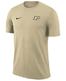 Nike Men's Purdue Boilermakers Dri-Fit Coaches T-Shirt