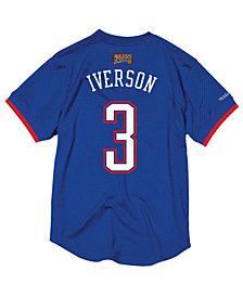 Mitchell & Ness Men's Allen Iverson NBA All Star 2004 Mesh Crew Neck Jersey