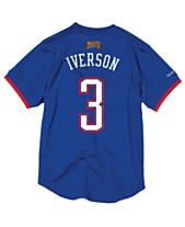 0b1061f6a Mitchell   Ness Men s Allen Iverson NBA All Star 2004 Mesh Crew Neck Jersey