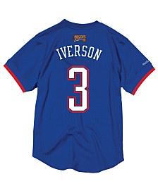 Mitchell & Ness Men's Allen Iverson NBA All Star 2004 Mesh Crew Neck Jersey
