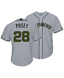 Majestic Men's Buster Posey San Francisco Giants USMC Cool Base Jersey