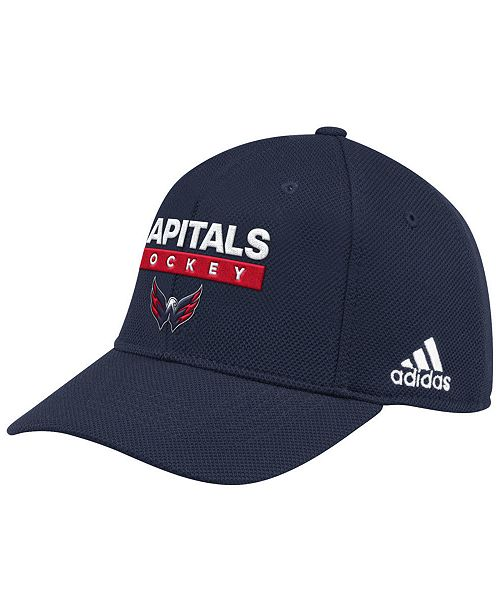 buy online 5d662 51e53 adidas Washington Capitals Stanley Cup Playoff Patch Cap ...
