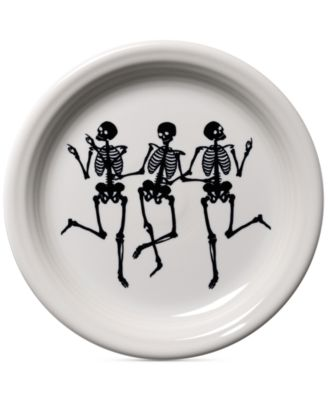 CLOSEOUT! Skeleton Appetizer Plate