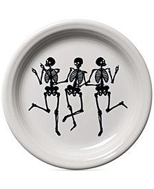 Fiesta Skeleton Appetizer Plate