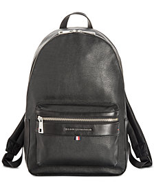 Tommy Hilfiger Men's Leo Camo-Print Backpack