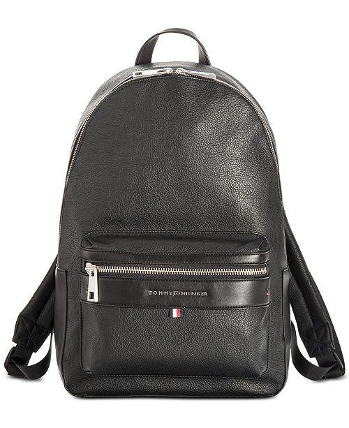 807ed455661e Tommy Hilfiger Men s Leo Camo-Print Backpack   Reviews - All ...