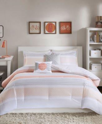 Wilson Reversible 5-Pc. Full/Queen Comforter Set