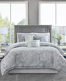Emory 7-Pc. Queen Comforter Set