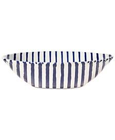 Net & Stripe Stripe Pasta Bowl