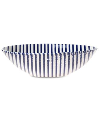 Net & Stripe Stripe Medium Serving Bowl