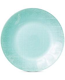 Glitter Glass Aqua Service Plate/Charger