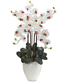 Nearly Natural Giant Phalaenopsis Orchid Artificial Arrangement