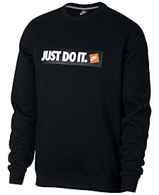 Nike Men's Sportswear Just Do It Logo Sweatshirt