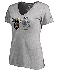 Women's Vegas Golden Knights Big Time Play Conference Champ T-Shirt