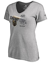 31c7876a8 Majestic Women s Vegas Golden Knights Big Time Play Conference Champ T-Shirt