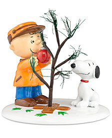 Department 56 Peanuts Village The Perfect Tree Collectible Figurine