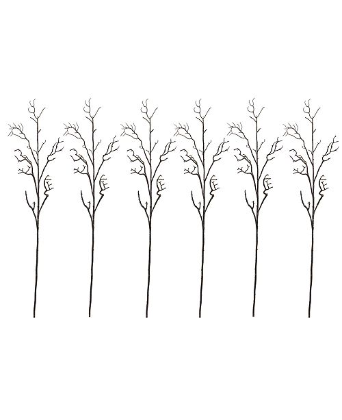 "Nearly Natural 6-Pc. 46"" Deadwood Artificial Flower Stem Set"