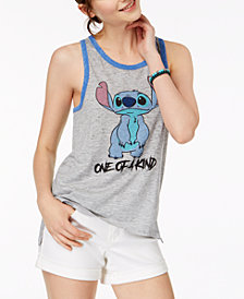 Freeze 24-7 Juniors' Lilo & Stitch Graphic Tank Top