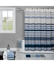 Cubes Stripe Bath Collection