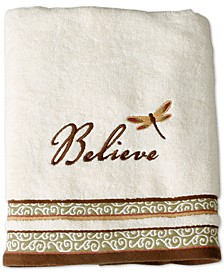 Inspire Cotton Embroidered Bath Towel