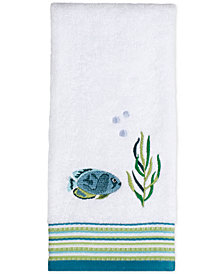 Saturday Knight Atlantis Cotton Embroidered Hand Towel