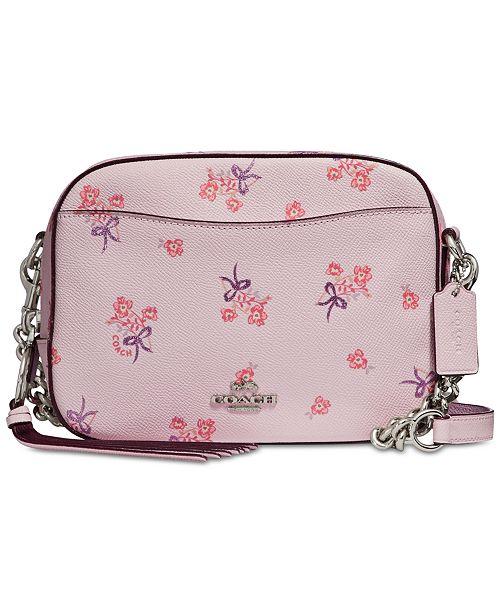 Canada Pink Floral Coach Purse A5002 1b81a