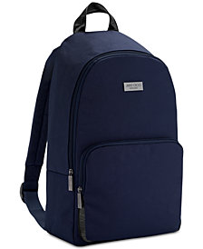 Receive a Complimentary Man Blue Backpack with any large spray purchase from the Jimmy Choo Man fragrance collection