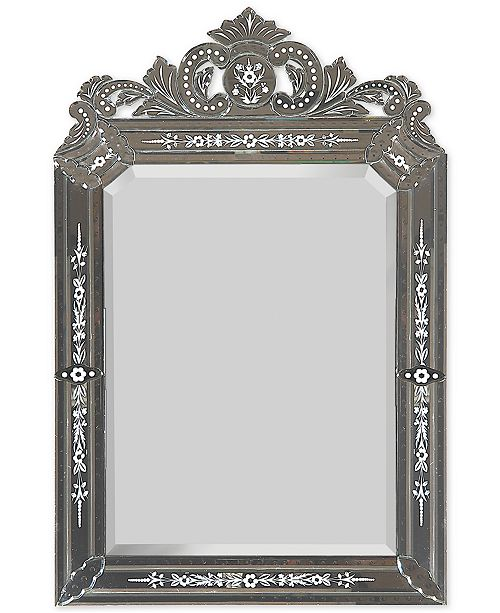 Furniture Portrait Venetian Mirror, Quick Ship