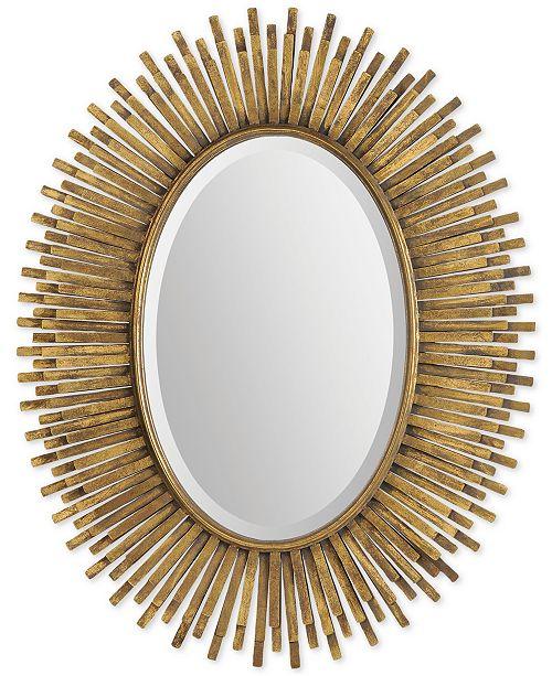 Furniture Sparta Wall Mirror, Quick Ship