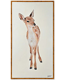 Doe Large Rectangular Wall Art, Quick Ship