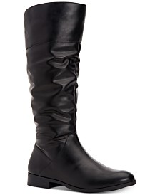 Style & Co Kelimae Scrunched Boots, Created For Macy's