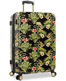 "Tommy Bahama Phuket Floral Printed 28"" Expandable Hardside Spinner Suitcase"
