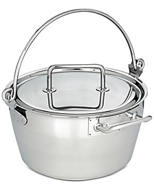 10.6-Qt. Stainless Steel Maslin Pan & Lid