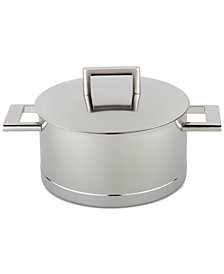 Demeyere John Pawson 4.2-Qt. Stainless Steel Dutch Oven & Lid