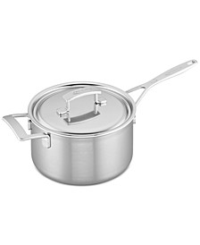 Industry 4-Qt. Stainless Steel Saucepan