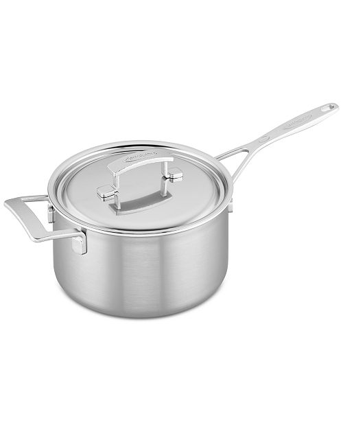 Demeyere Industry 4 Qt Stainless Steel Saucepan Reviews